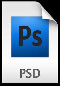 Иконка PSD