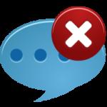 Иконка удаление сообщения