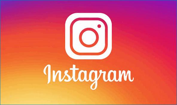 Стильный логотип Instagram