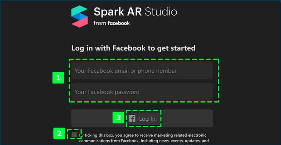 Установка приложения для создания масок Инстаграм